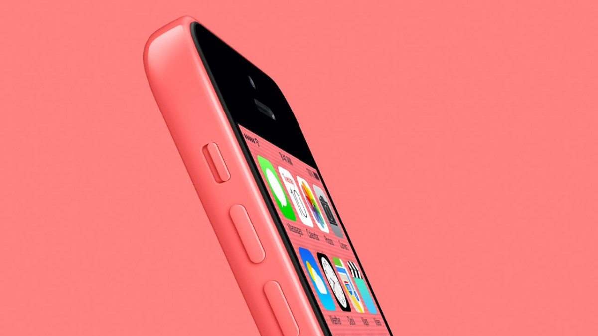 iPhone 6s - force touch, pink