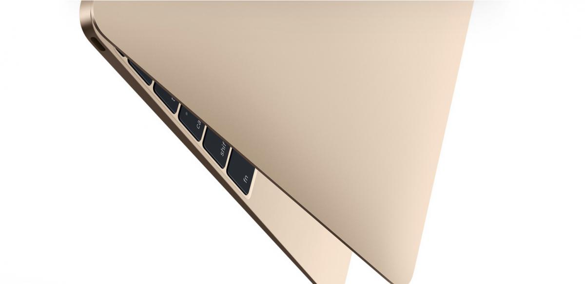 Macbook 12 inch gold
