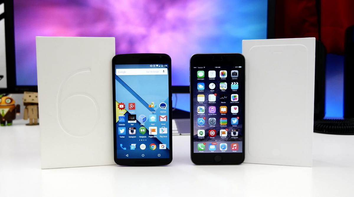 Nexus vs iPhone 6 Plus
