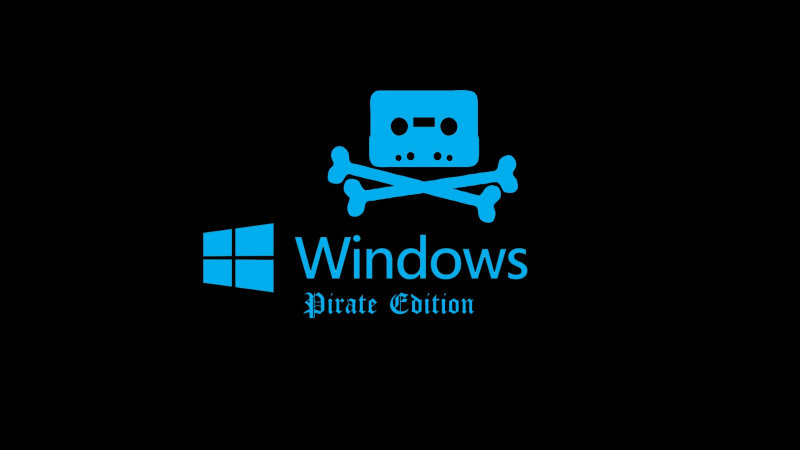 Microsoft distruge pirateria