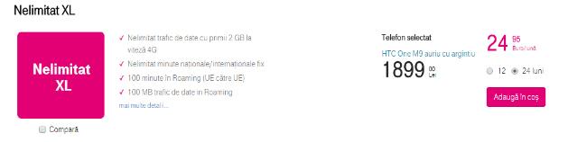 Oferta pentru HTC ONE M9 Telekom
