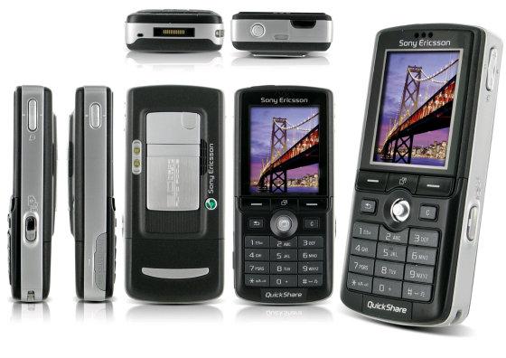 Telefonul Sony Ericsson K750