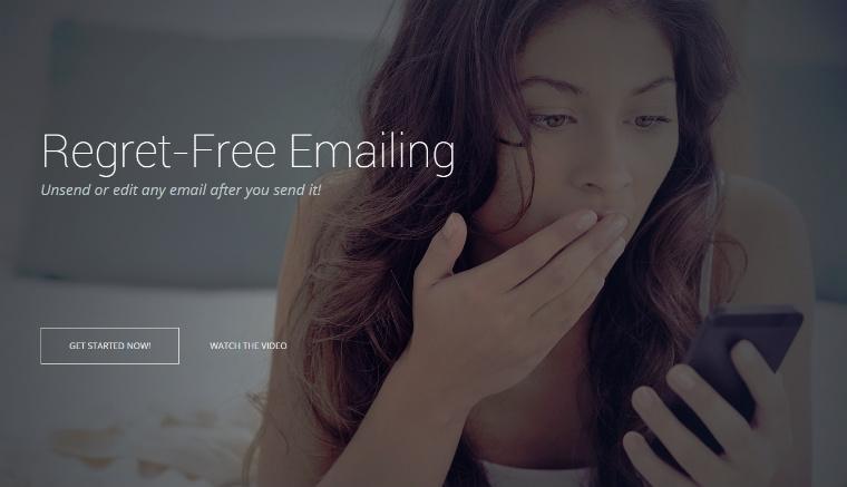 retrage e-mailurile trimise unsend it