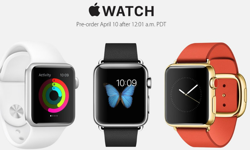 Apple Watch precomanda