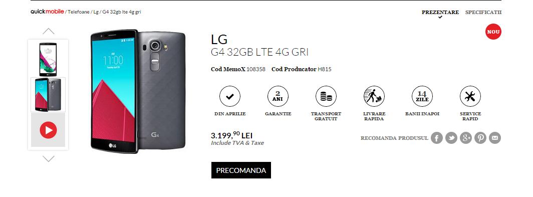 LG G4 Quickmobile