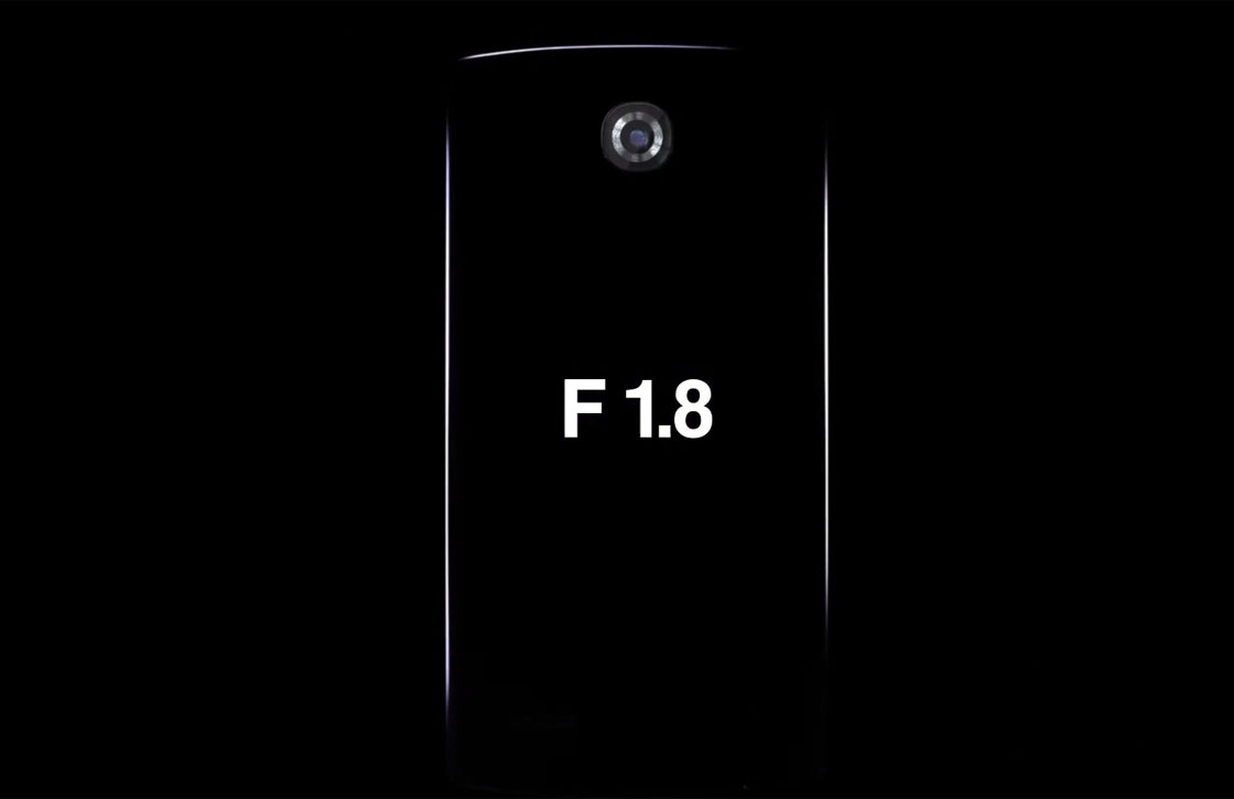 LG G4 camera f/1.8