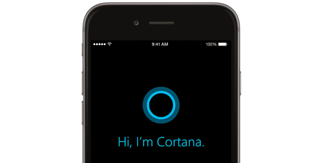 Cortana soseste pe ios si android