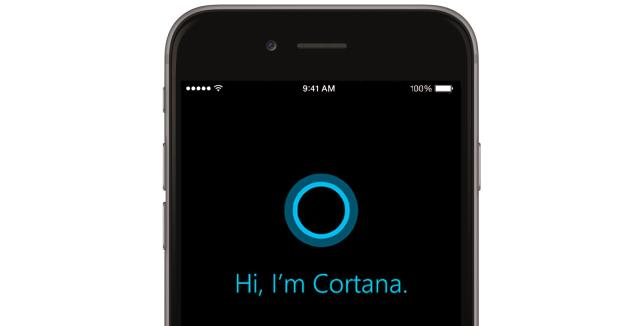 Cortana soseste pe ios si android