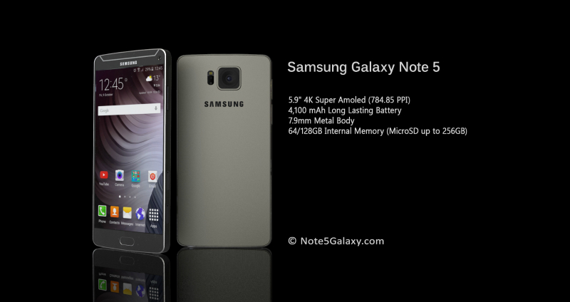 Samsung Galaxy Note 5 specificatii