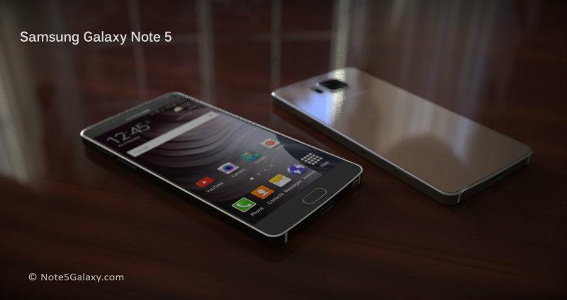 Samsung Galaxy Note 5 informatii oficiale