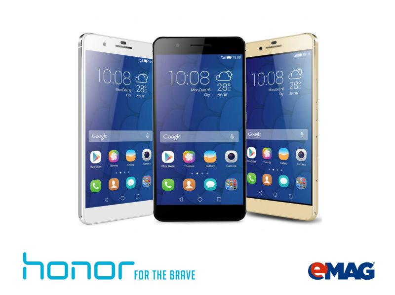 Huawei Honor ajunge la eMAG, în exclusivitate!