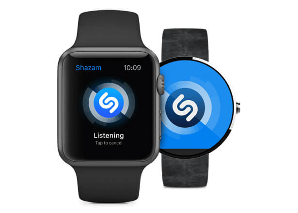 Aplicatia Shazam disponibila pe Android Ware si Apple Watch