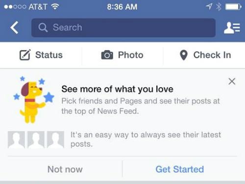 Facebook vine cu o noua functie
