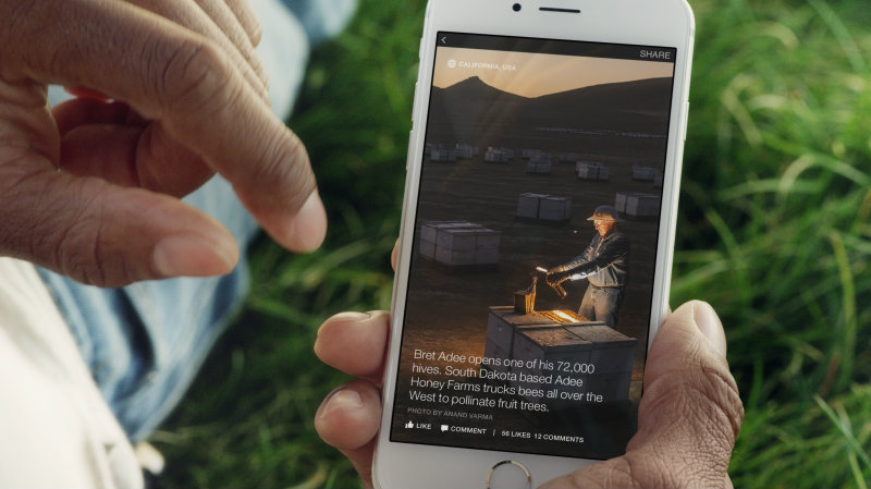 National Geographic Instant Articles