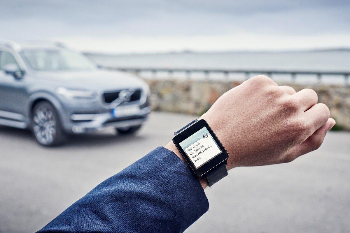 Masinile Volvo vor avea putea sa fie controlate si de pe ceasurile cu Android Wear