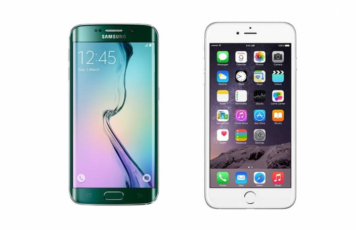 samsung galaxy s6 edge vs iphone 6