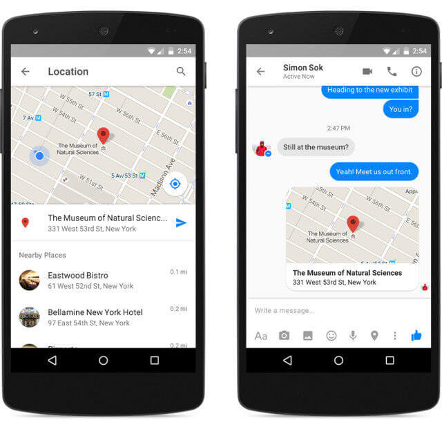 facebook-messenger-share-location