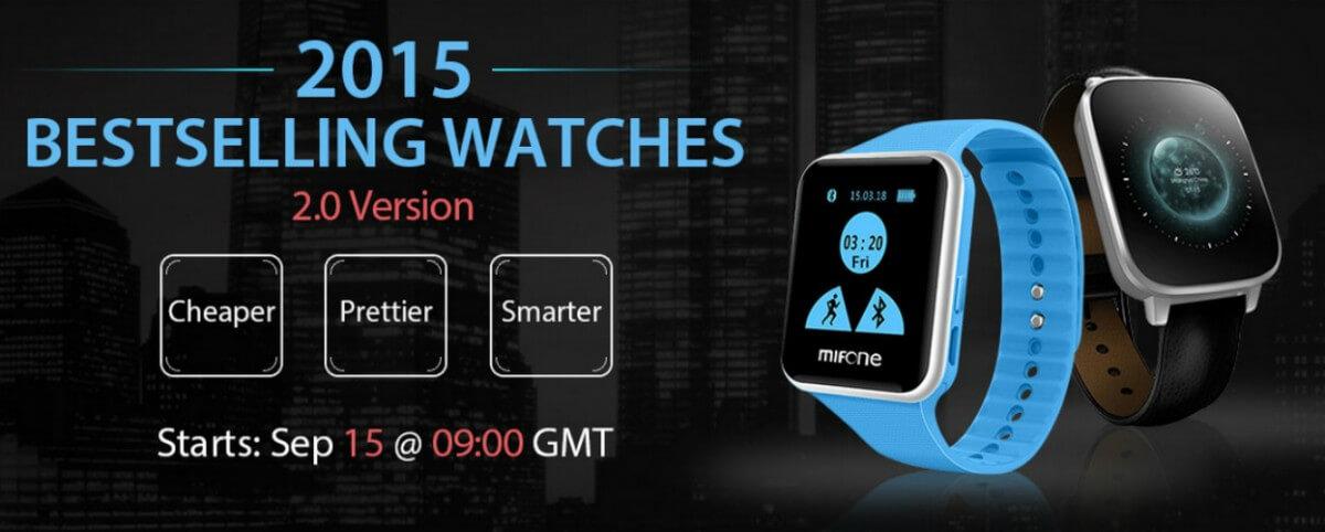 Cele mai vandute smartwatch-uri din China