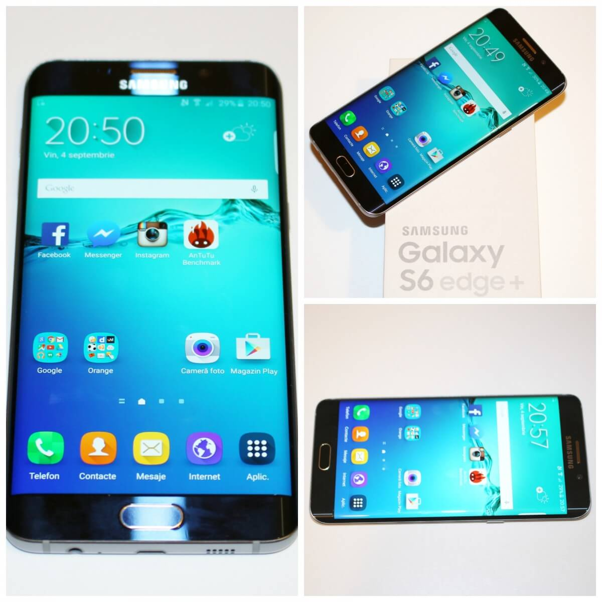 Samsung Galaxy S6 edge + Orange Smartphone Tester