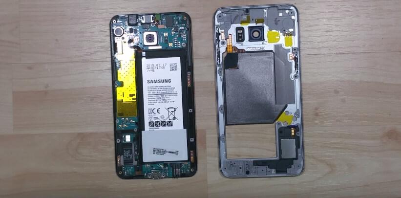 Interior Samsung Galaxy S6 Edge +