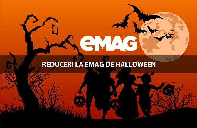 Emag are reducerei de Halloween 29-31 octombrie 2015