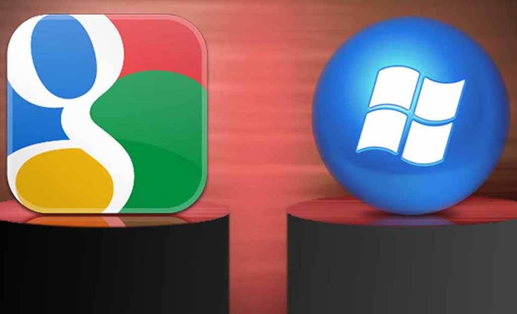 google si microsoft colaboreaza
