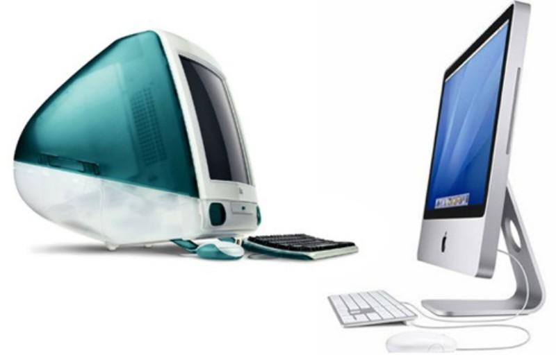 iMac 1998 vs iMac 2014