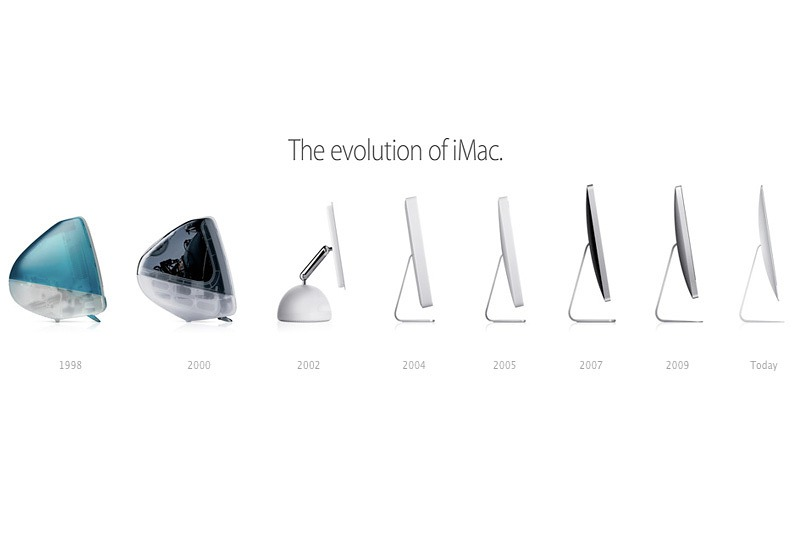 evolutie iMac