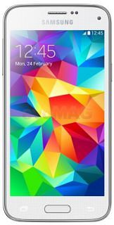 Telefon+Mobil+Samsung+Galaxy+S5+Mini,+Procesor+Quad+Core+1.4GHz+Cortex-A7,+Super+AMOLED+4.5,+1.4GB+RAM,+16GB+Flash,+8MP,+4G,+Wi-Fi,+Android+(Alb)