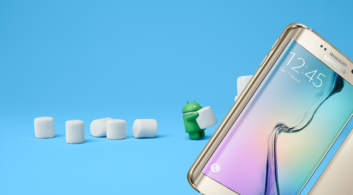 Samsung S6 Android Marshmallow
