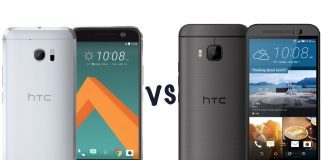 Comparatie htc 10 vs one m9