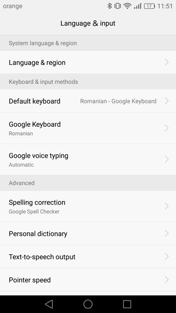 Huawei P9 Tastatura Google