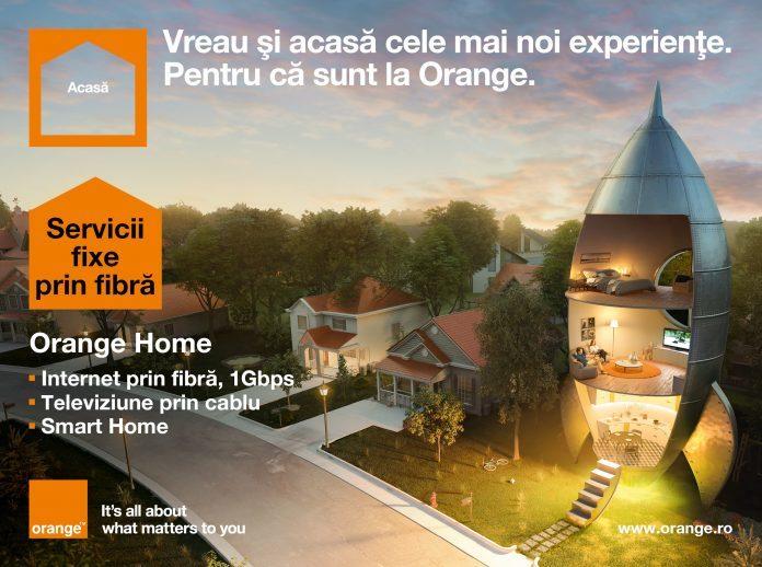 Orange Home internet, telefonie fixa, cablu tv