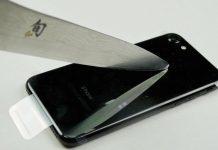 iphone-7 jetblack SCRATCH zgariere