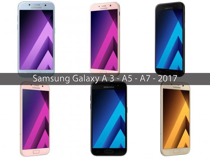 Samsung A3 A5 A7 2017