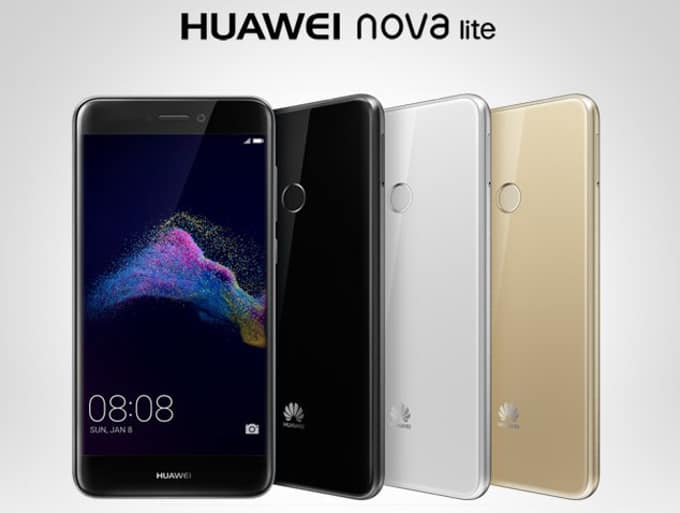 Huawei Nova Lite - Huawei P8 2017