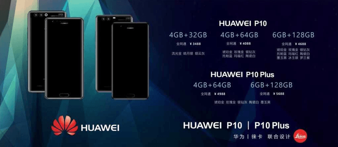 Huawei P10 - P10 Plus - Preț