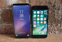 Samsung Galaxy S8 vs. iPhone 7