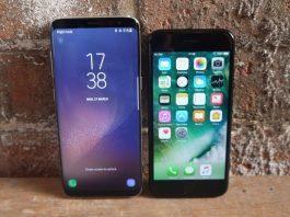 Samsung Galaxy S8 vs. iPhone 7