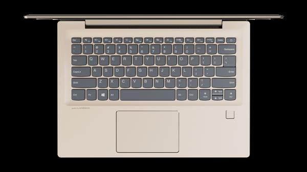 Lenovo IdeaPad 520S de 14 inci în varianta Champagne Gold