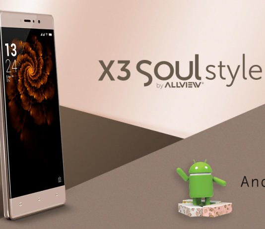 Allview X3 Soul Style Android 7.0