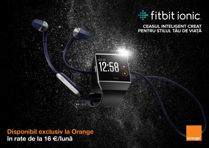 fitbit ionic orange