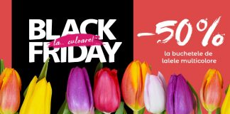 Black Friday la flori Floria.ro